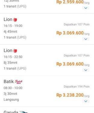 Tiket Pesawat Ambon Jakarta Mahal Info Ambon